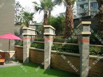 园林景墙有围墙,隔断,景观墙三种类型